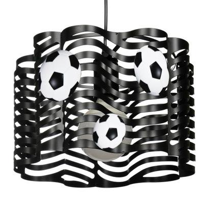 prívesok Lampa MUNDIAL black V. 1 LED žiarovka extra