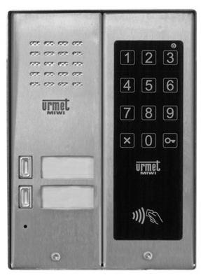 PANEL INTERCOM INTERCOM HOVORÍ URMET 5025/2D-LC-RF