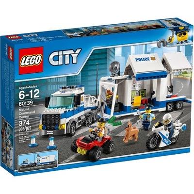 LEGO City 60139 Mobilné veliteľské stanovište
