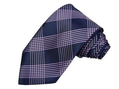 AAK44 Elegancki krawat męski NEXT
