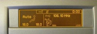 Дисплей Peugeot 407 Новый Тип Не ТУСКНЕЕТ