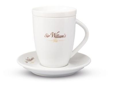 Сэр Уильямс комплект кружка крышка блюдце подарок