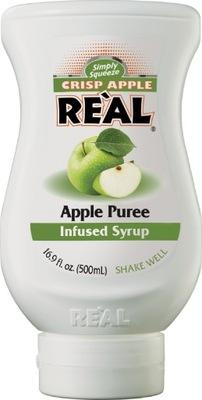 Crisp Apple Real - пюре яблочные сироп барменский