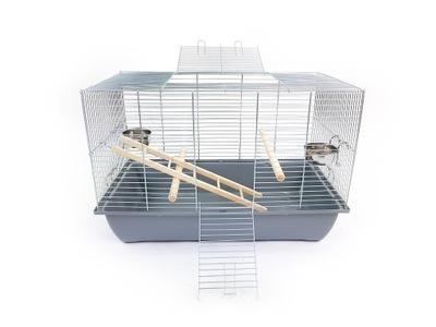 клетка мега 1 для ПТИЦЫ 70x40x46 - канарейка, попугай