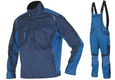 Pracovné oblečenie Tričko+nohavice s Náprsenkou ALDANSKOM R8ED R. 50