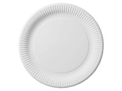 ТАРЕЛКИ БУМАЖНЫЕ белое 15 см тарелка fi15 100шт.