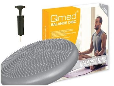 QMed Poduszka sensoryczna Jeżyk dysk beret +Pompka