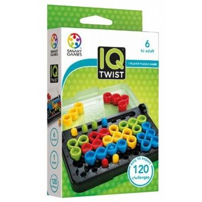 SMART GAMES GRA LOGICZNA IQ TWIST - 120 zadań