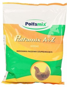 POLFAMIX а ну+ С витамины для кур-несушек 1 КГ