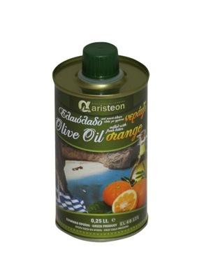 оливковое масло Оливковое масло с Апельсином 250 мл Греческий ARISTEON