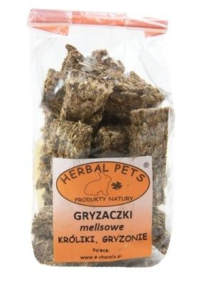 HERBAL PETS GRYZAKI MELISOWE 140G DLA GRYZONI