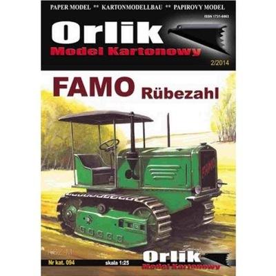 Orlik 094 - Niemiecki ciągnik Famo Rubezahl 1:25