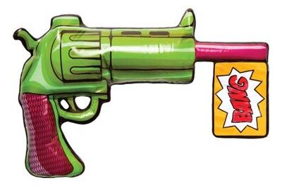 Nafukovacie Zbraň Joker Batman gadget Klaun