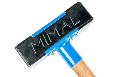 MIMAL kladivová gumová dlabačka stredná 400mm 2,6kg