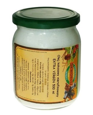 кокосовое масло нерафинированный    экстракласс 500 мл