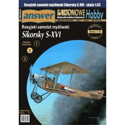Answer 5/17 - Rosyjski samolot Sikorsky S-XVI 1:33