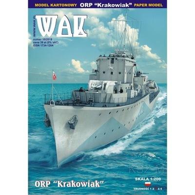 ОАК 10 /18 - Эсминец ORP Krakowiak 1 :200