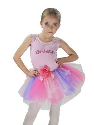sukienka TANIEC BALET body DANCE TUTU sk683 4-5lat