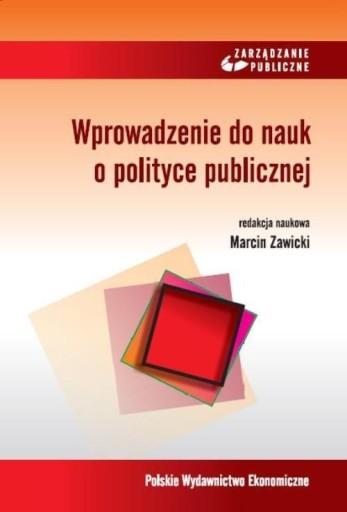 Wprowadzenie do nauk o polityce publicznej