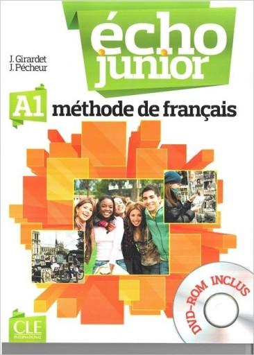Echo Junior A1 podręcznik + DVD Girardet J., Peche