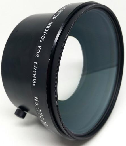 Konwerter szerokokątny do kamer Canon W80Y-85 0.8x