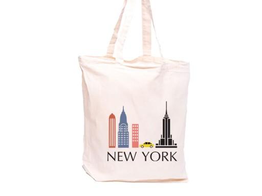 a701a6baf9b00 Shopper bag NEW YORK torba eko na zakupy NY 6751059939 - Allegro.pl