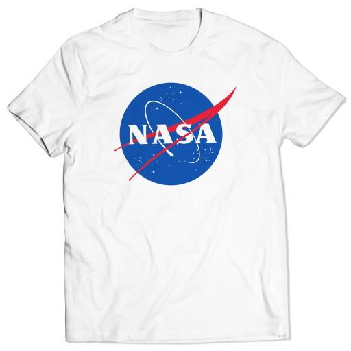 KOSZULKA T-shirt MĘSKi NASA Kennedy KOSMOS PREZENT 7300461608 Odzież Męska T-shirty MB VRLLMB-2
