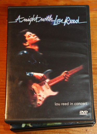 LOU REED A NIGHT WITH        DVD