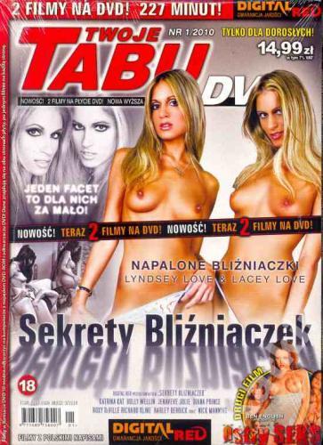Sekrety Bliźniaczek+Ostry seks. Tabu nr 1/2010 DVD