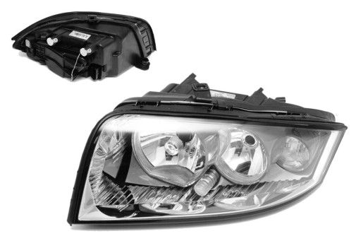 Audi A2 00-05 фара VALEO новая Q левая