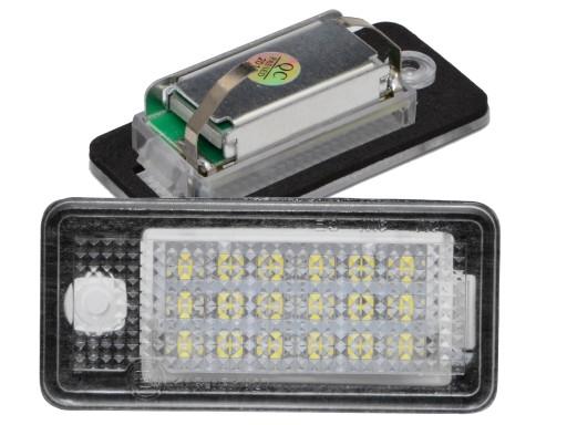 Lampki Led Podświetlenie Rejestracji Audi A6 C6 S6 5619083824