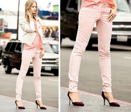 CUBUS spodnie jeansy Rurki MARMURKI ACID XS/S w27