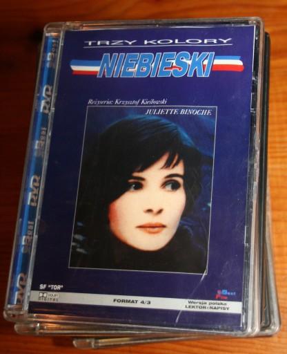 NIEBIESKI        DVD
