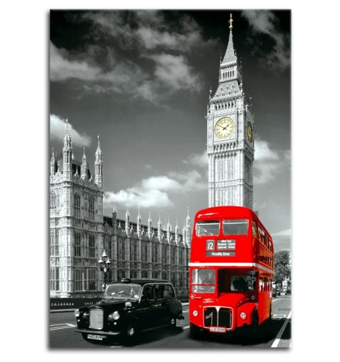 LONDON Big Ben Foto Obraz Reprodukcja Canvas HIT!