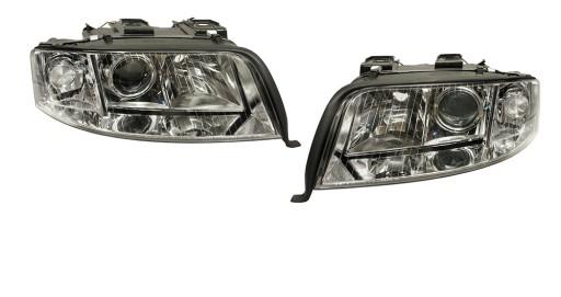 REFLEKTORY Lampy AUDI A6 C5 LIFT 01-05 DEPO 2szt