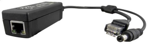 Splitter PoE Pulsar SP-POE12 - 802.3af 48V na 12V