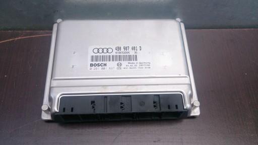Audi A6 C5 Sterownik Silnika 4b0907401d 25tdi Akn 6809894180