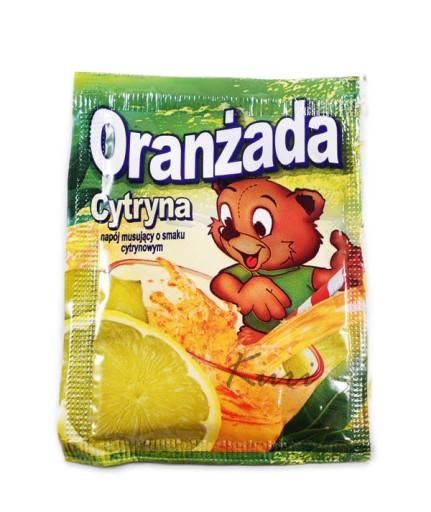 Oranzada W Proszku Cytrynowa Z Misiem 10szt 5164840944 Allegro Pl