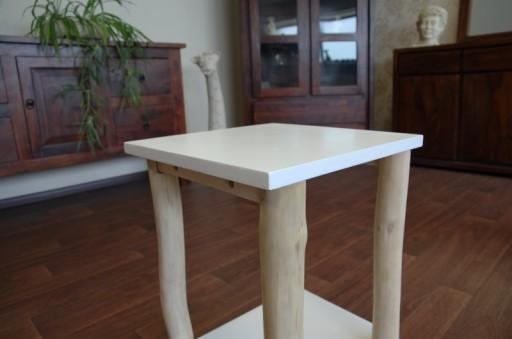 Rewelacyjny stolik 52x35x35 cm Eco biały
