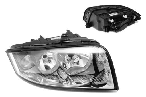 Audi A2 00-05 фара VALEO новая Q правая