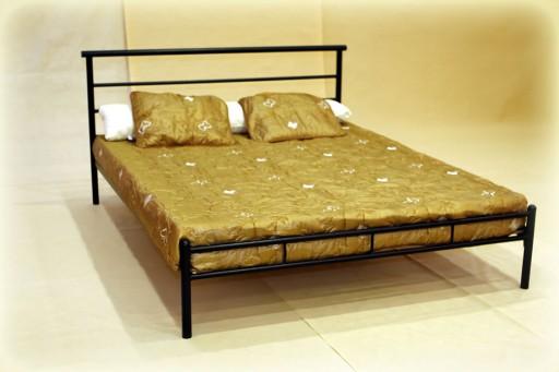 łóżko Metalowe Kute Gabi 180x200 Skandynawski Loft
