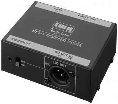 rozdzielacz mikrofonowy MPS-1 IMG STAGE LINE