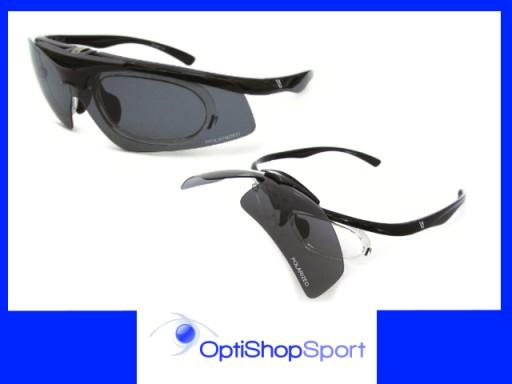 FLIPPER Okulary korekcyjne na rower. POLARYZACJA 6144603059