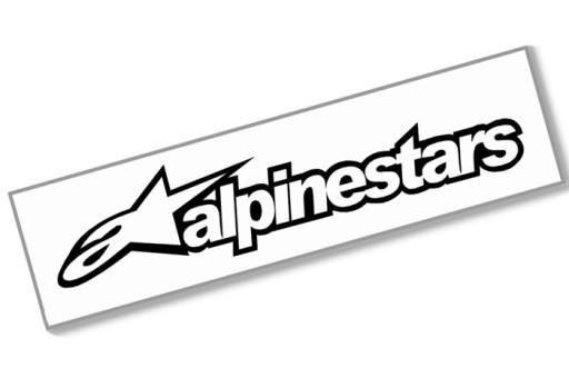 ALPINESTARS - Naklejka 10cm - superbike astars