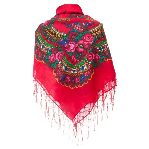 1730389a18594c DUŻA Chusta GÓRALSKA apaszka chustka folk ludowa 5565943881 - Allegro.pl