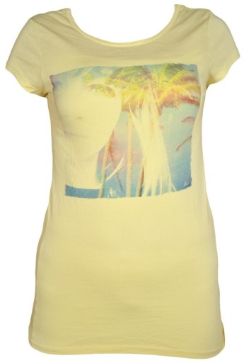 LEE t-shirt damski s/s Yellow PICTURE T _ M r38