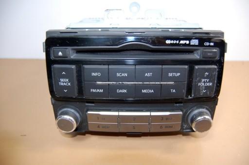 ORYGINALNE RADIO CD HYUNDAI I20 LIFT 96121-1J250