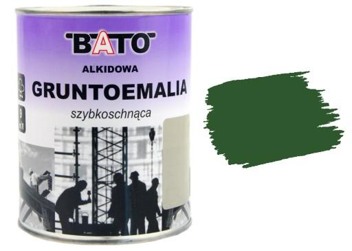 Bezpodkladowa Farba Emalia Metalu Zeliwa Zielona 5678000687 Allegro Pl