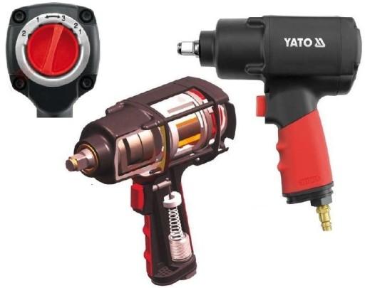 Klucz pneumatyczny 1/2 1356 Nm YATO YT-0953 OKAZJA 4903558456