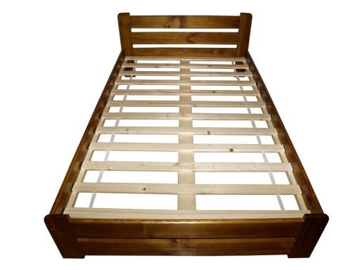 Stelaż Wkład Do łóżka Drewniany 160x200 Poducent